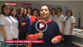 İnovatif Zeynep Kamil Hemşirelerinin başarıları Trt Haber'de!